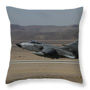 A Panavia Tornado Of The Italian Air Throw Pillow
