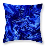Abstract 28 Throw Pillow