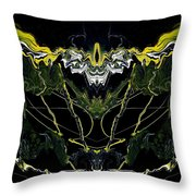 Abstract 42 Throw Pillow by J D Owen