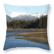 Alaskan Beauty Throw Pillow