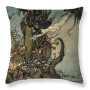 Andersen: Little Mermaid Throw Pillow