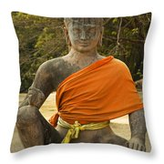 Angkor Thom Throw Pillow