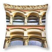 Arch Windows Throw Pillow