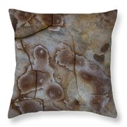 Art Rock Throw Pillow