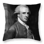 Benjamin West (1738-1820) Throw Pillow