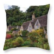 Bibury Throw Pillow