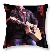 Billy Ray Cyrus Throw Pillow