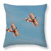 Breitling Wingwalkers Team Throw Pillow