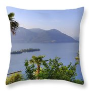 Brissago Islands Throw Pillow