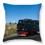 Brockenbahn Throw Pillow