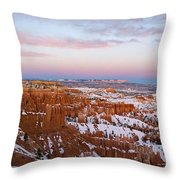Bryce Canyon National Park Utah Throw Pillow