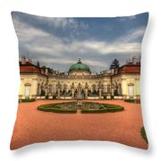 Buchlovice Castle Throw Pillow