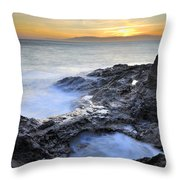 Cabo De Gata Throw Pillow