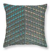 Canary Wharf London Art Throw Pillow