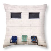 Ace Chairs Palm Springs Throw Pillow
