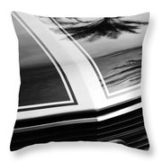 Chevrolet Chevelle Ss Grille Emblem Throw Pillow