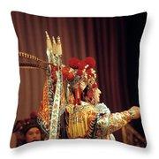China Opera, 1979 Throw Pillow