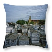 City Of The Dead - New Orleans Throw Pillow