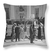 Civil Rights Protest, 1965 Throw Pillow