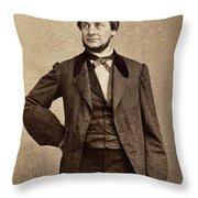 Clement Vallandigham (1820-1871) Throw Pillow