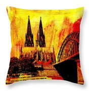 Cologne Throw Pillow