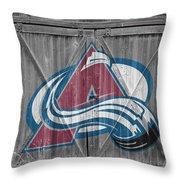 Colorado Avalanche Throw Pillow