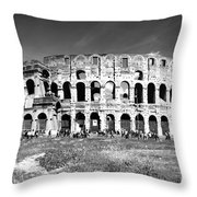 Colosseum Throw Pillow by Stefano Senise