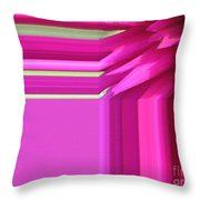 Dahlia Named Andreas Dahl Throw Pillow
