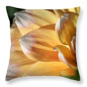 Dahlia Named Seattle Throw Pillow