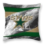 Dallas Stars Throw Pillow