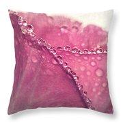 Declaration Of Love Throw Pillow