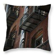 Denver Street Scenes Throw Pillow