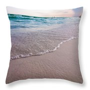 Destin Florida Beach Scenes Throw Pillow