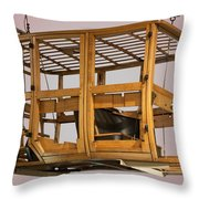 4 Door Vehicle Wood Frame Throw Pillow