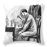 Doyle: Sherlock Holmes Throw Pillow