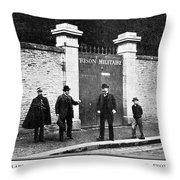 Dreyfus Affair, 1899 Throw Pillow