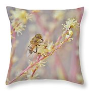 Drone Fly Throw Pillow