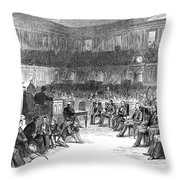 Electoral Commission, 1877 Throw Pillow