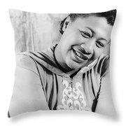 Ella Fitzgerald (1917-1996) Throw Pillow
