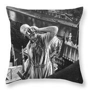 Eugene Viollet Le Duc (1814-1879) Throw Pillow