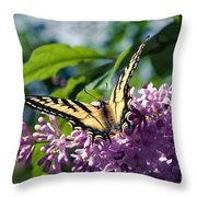 Expectation Of The Dawn Throw Pillow