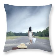 Farewell Throw Pillow by Joana Kruse
