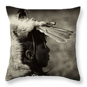 4 - Feathers Throw Pillow