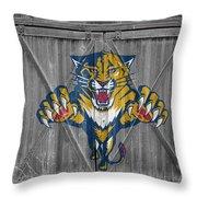 Florida Panthers Throw Pillow