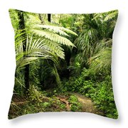 Forest No1 Throw Pillow