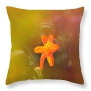 Garden Flower   Throw Pillow