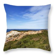 Gay Head Lighthouse Throw Pillow
