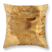 Gears In The Head Throw Pillow