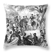 George Washington, 1775 Throw Pillow