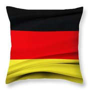 German Flag Throw Pillow